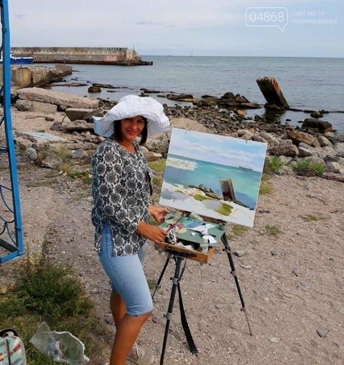Черноморские художники провели пленэр «Морские мотивы», фото-7