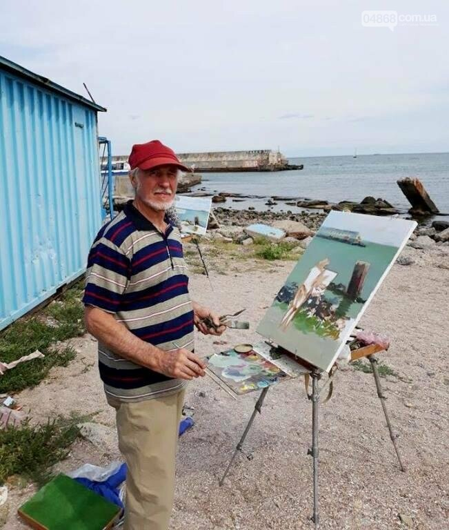 Черноморские художники провели пленэр «Морские мотивы», фото-8