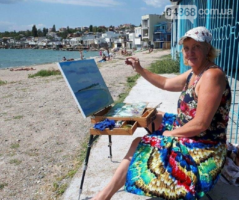 Черноморские художники провели пленэр «Морские мотивы», фото-2