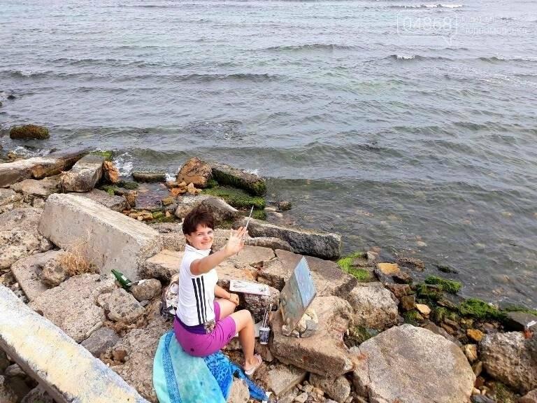 Черноморские художники провели пленэр «Морские мотивы», фото-6