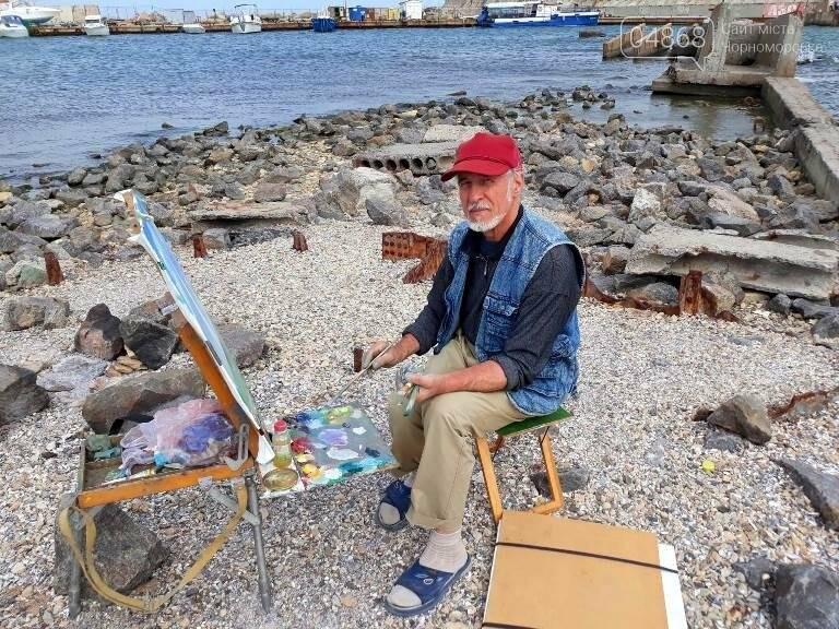 Черноморские художники провели пленэр «Морские мотивы», фото-4