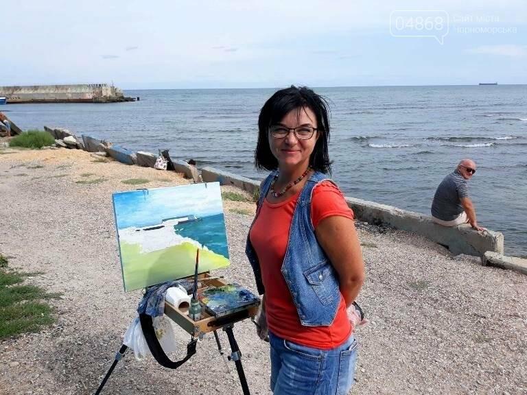 Черноморские художники провели пленэр «Морские мотивы», фото-3
