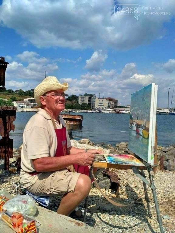 Черноморские художники провели пленэр «Морские мотивы», фото-1