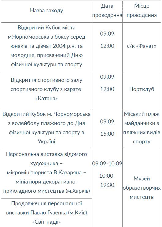 План культурных мероприятий на выходные дни 9-10 сентября, фото-1