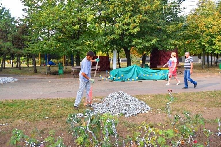 Черноморск: утро после праздника (фото), фото-11