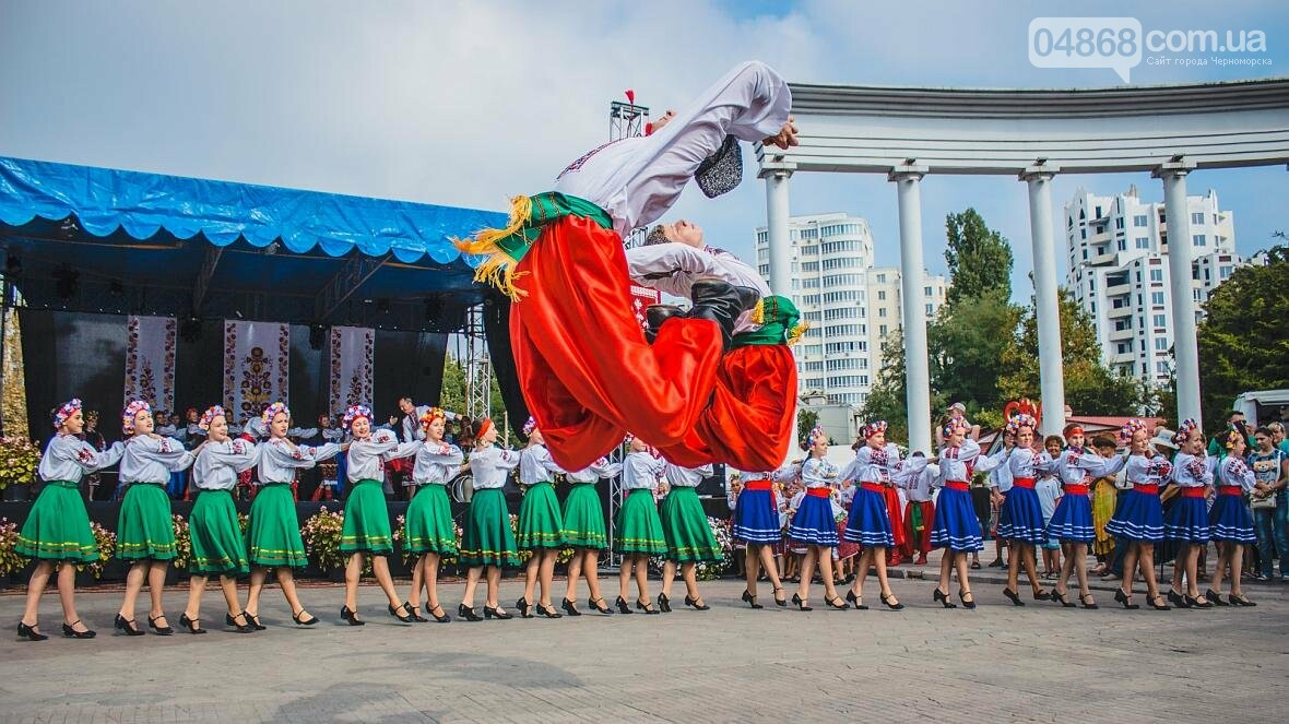 Как прошёл День цветов и даров природы в Черноморске (фото), фото-4