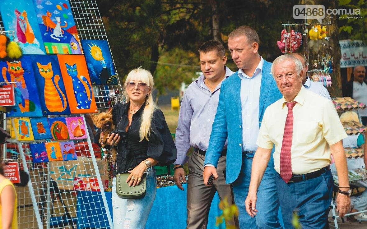 Как прошёл День цветов и даров природы в Черноморске (фото), фото-14