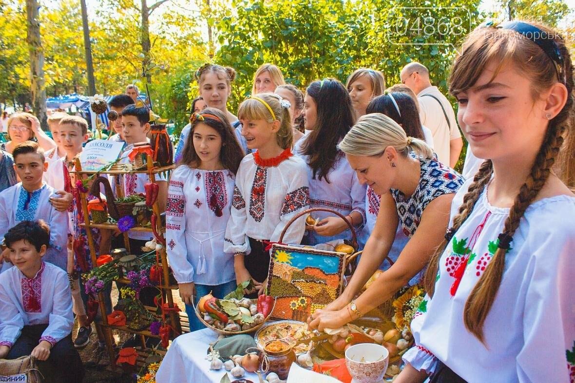 Как прошёл День цветов и даров природы в Черноморске (фото), фото-16