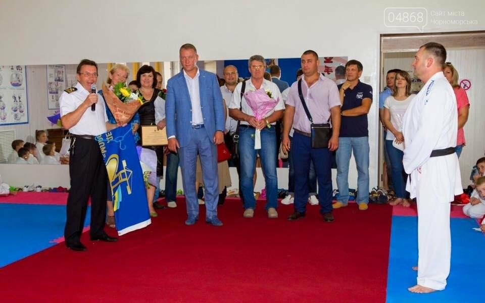 """В Черноморске состоялось открытие нового зала СК """"КАТАНА"""", фото-2"""