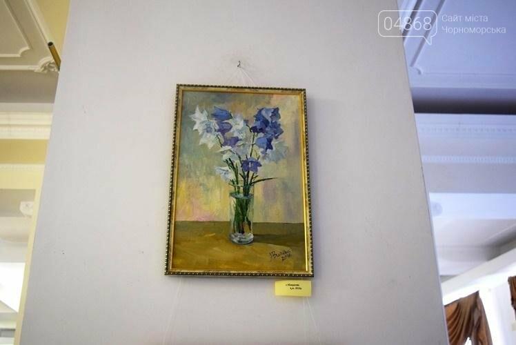 Ко Дню цветов в музее Черноморска расцвели цветы художницы Натальи Видовой, фото-7