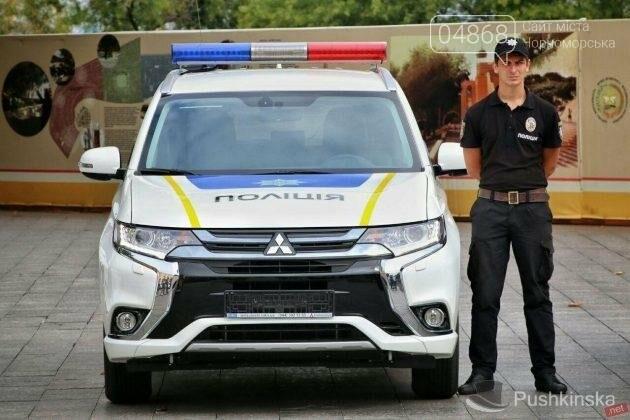 Полиция Черноморска получила 2 новых автомобиля, фото-7