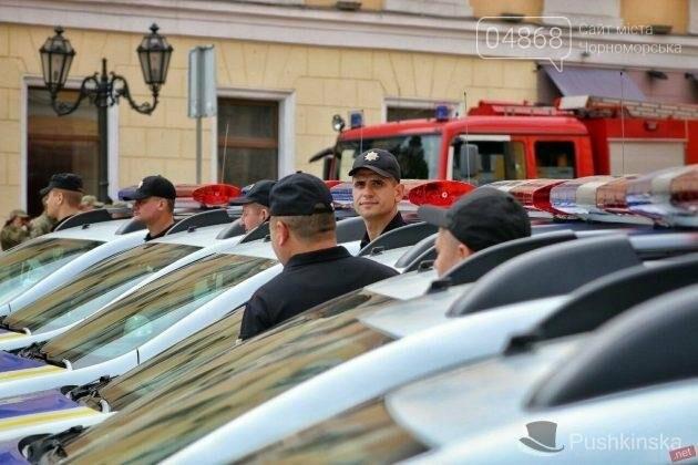 Полиция Черноморска получила 2 новых автомобиля, фото-3