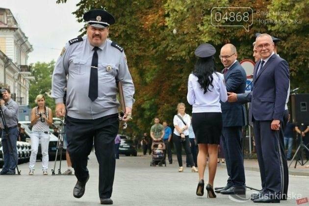 Полиция Черноморска получила 2 новых автомобиля, фото-6