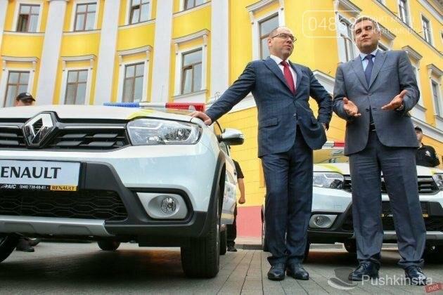 Полиция Черноморска получила 2 новых автомобиля, фото-5