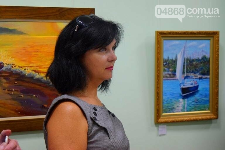 Художники Черноморска представили 30 новых картин, посвящённых городу, фото-1