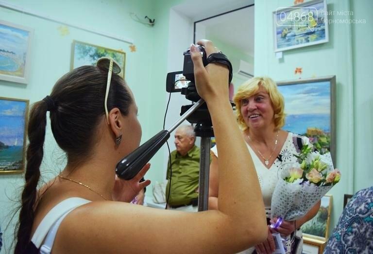 Художники Черноморска представили 30 новых картин, посвящённых городу, фото-3