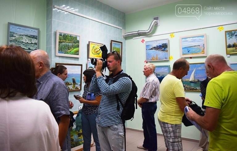 Художники Черноморска представили 30 новых картин, посвящённых городу, фото-6