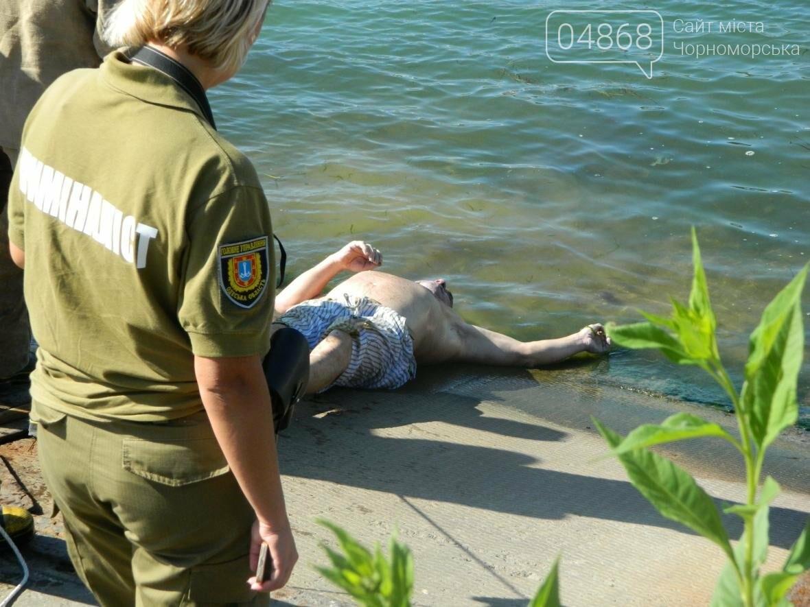 """Вблизи Черноморского """"Яхт-клуба"""" обнаружено тело утопленника (фото), фото-7"""