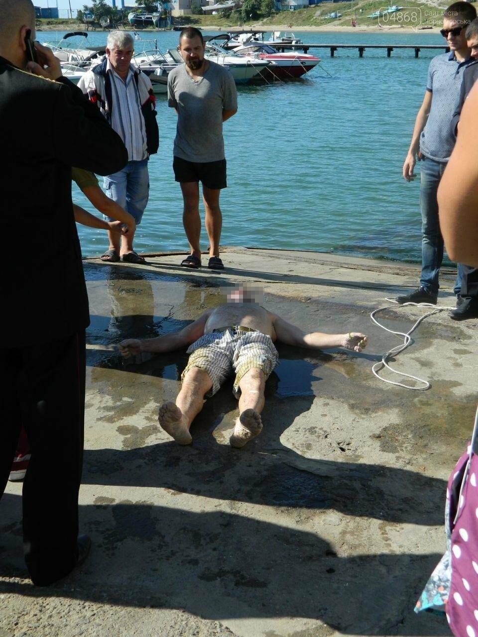 """Вблизи Черноморского """"Яхт-клуба"""" обнаружено тело утопленника (фото), фото-3"""