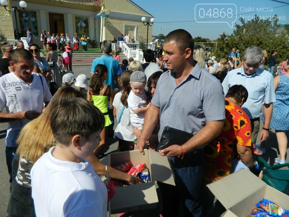 Общественники Черноморска поздравили с Днём рождения село Малодолинское , фото-3
