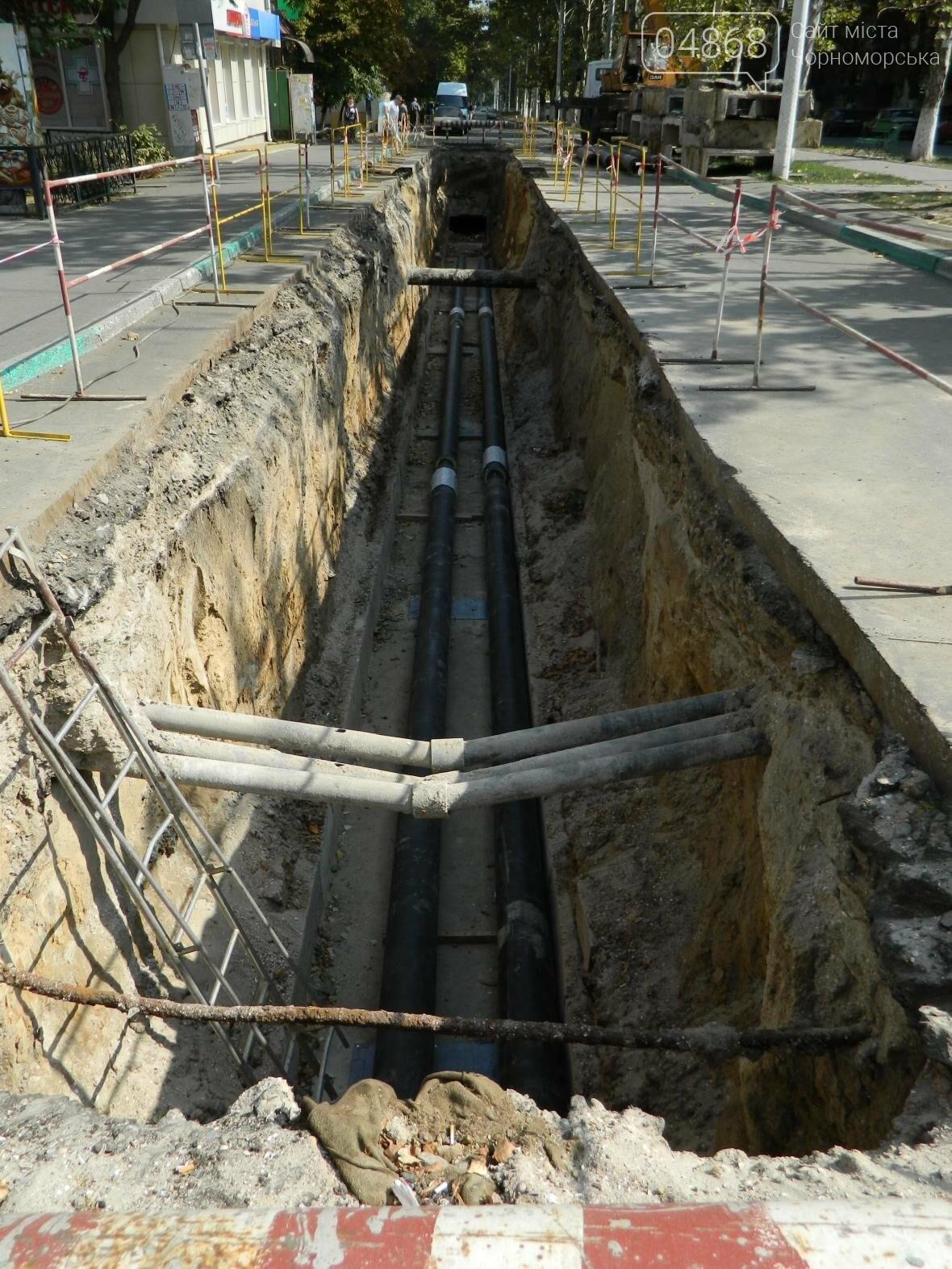 В «Черноморсктелоэнерго» рассказали о затянувшемся ремонте на улице Спортивной, фото-1