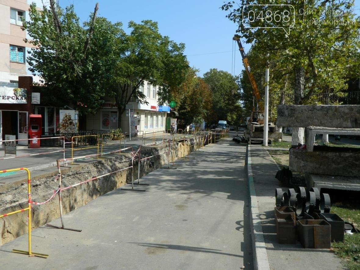 В «Черноморсктелоэнерго» рассказали о затянувшемся ремонте на улице Спортивной, фото-3