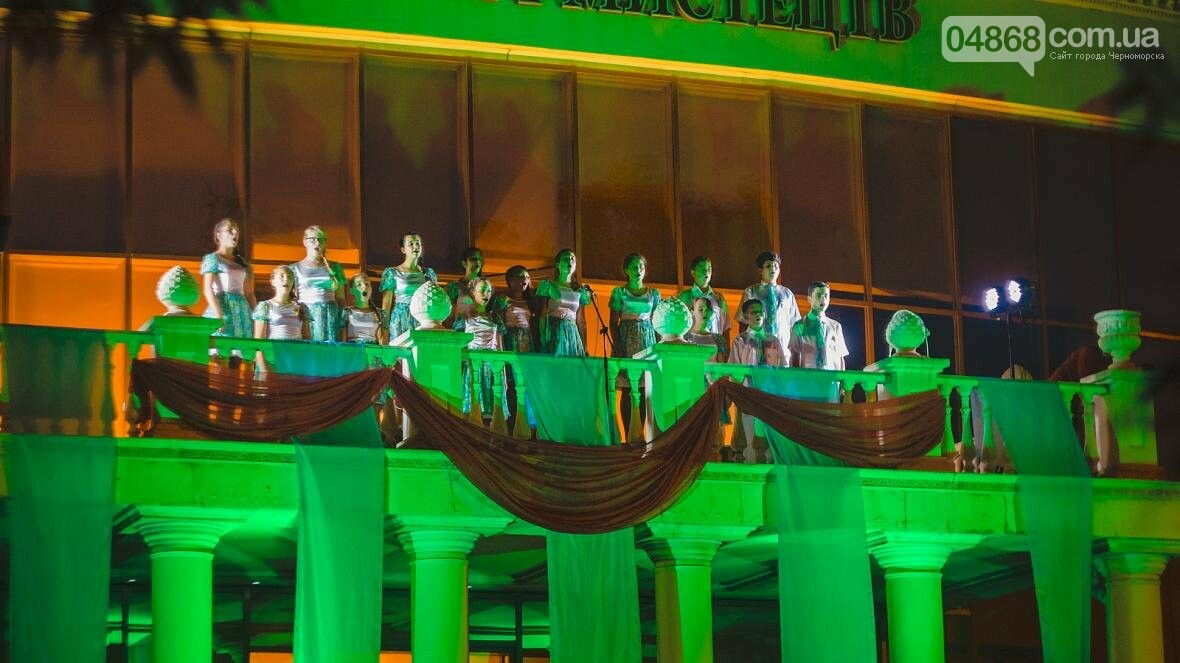 В Черноморске прошёл концерт «Море оперы» (фото), фото-1