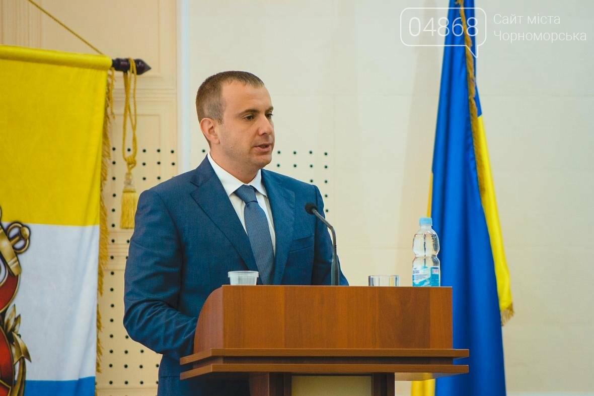 Состоялось заседание сессии Черноморского городского совета, фото-8