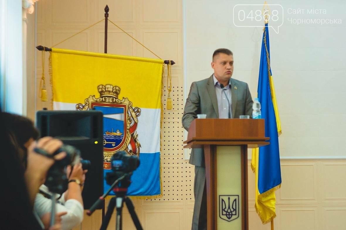 Состоялось заседание сессии Черноморского городского совета, фото-7