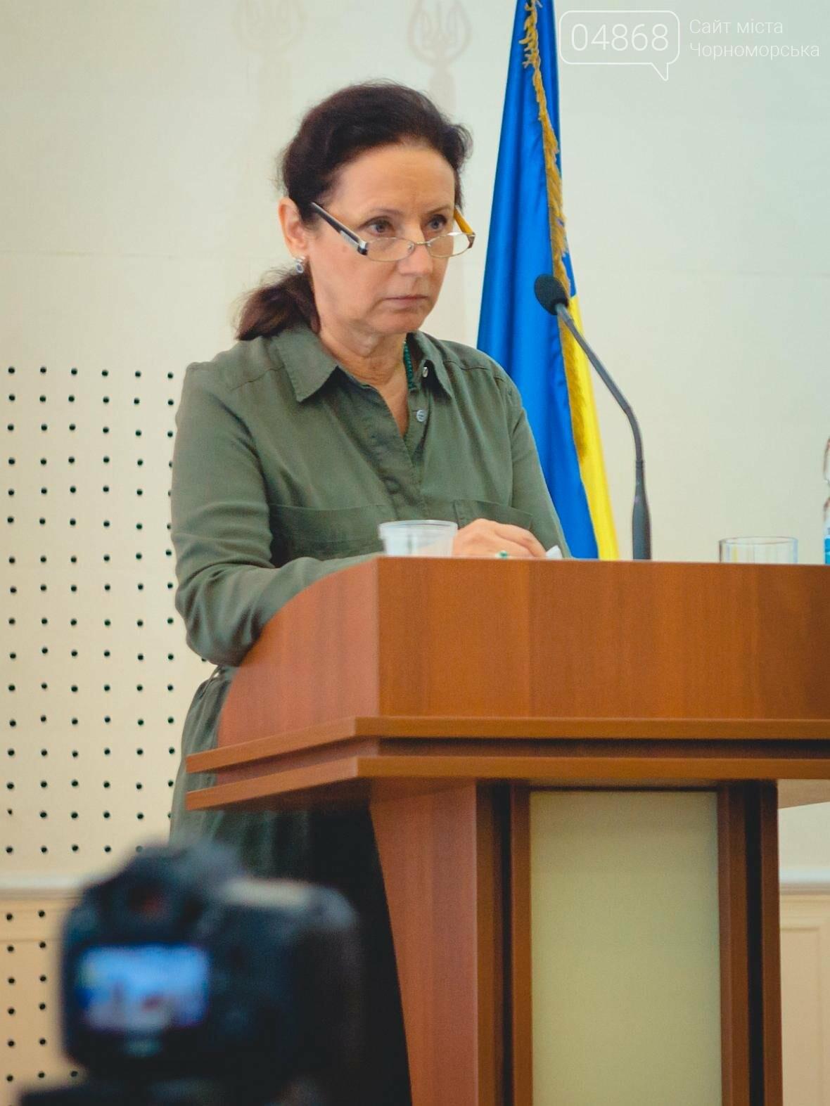 Состоялось заседание сессии Черноморского городского совета, фото-9