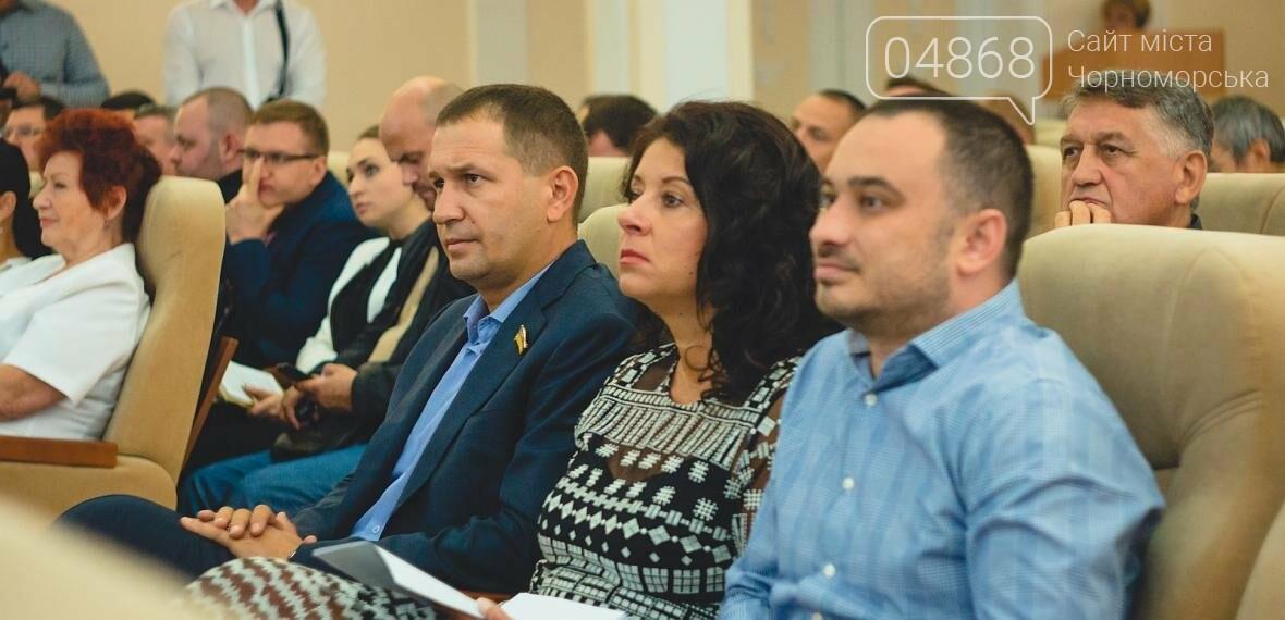 Состоялось заседание сессии Черноморского городского совета, фото-4