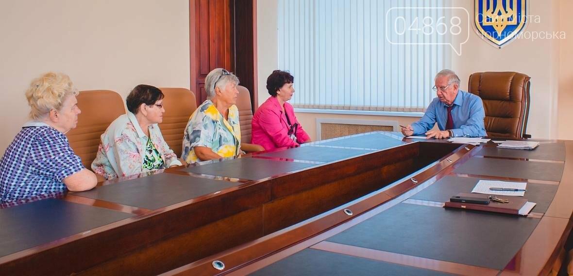 Городской голова Черноморска провёл личный приём граждан, фото-3