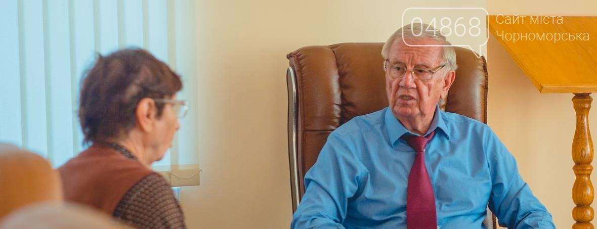 Городской голова Черноморска провёл личный приём граждан, фото-5