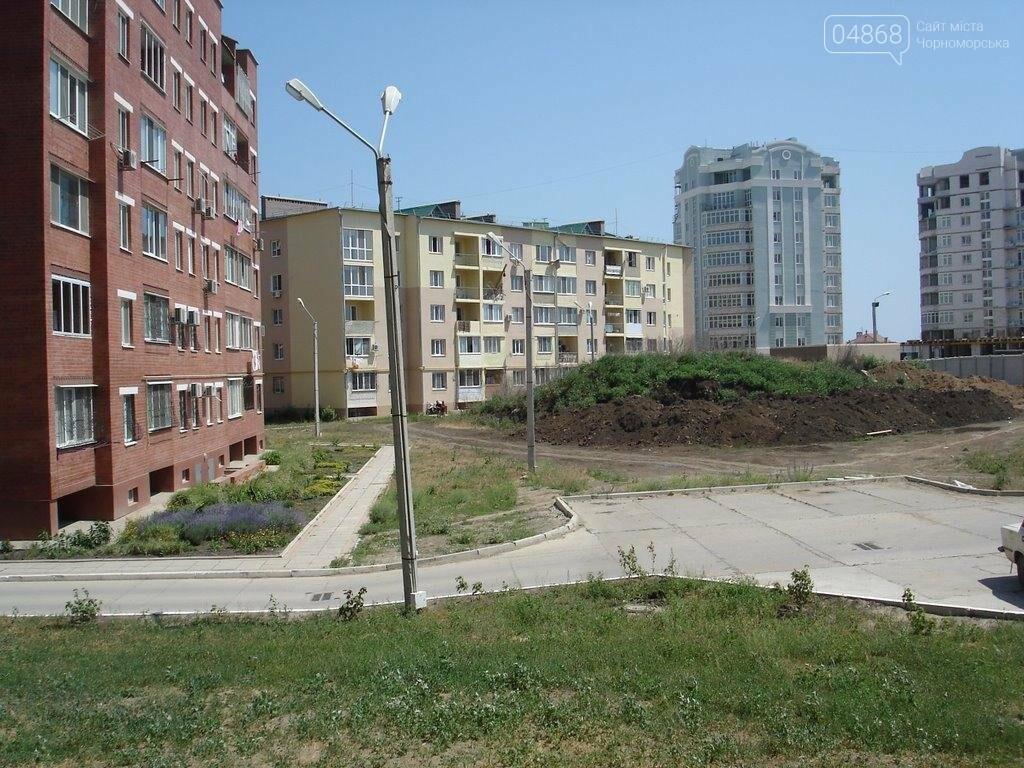 В 9м микрорайоне Черноморска появится спортивная площадка, фото-1