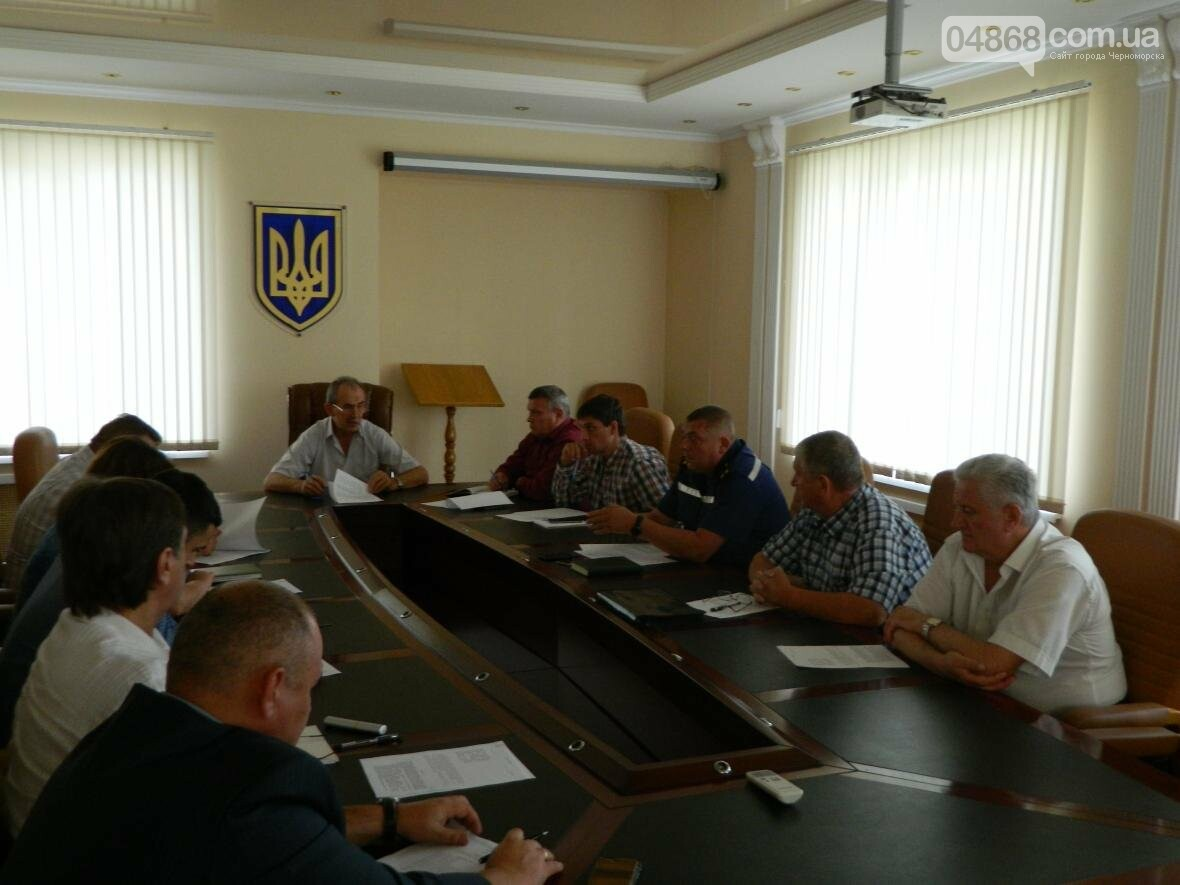 В Черноморске прошло заседание комиссии по техногенной безопасности, фото-6