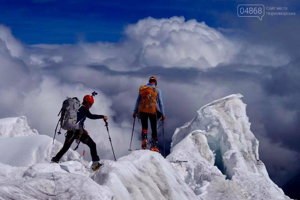 Альпинист из Черноморска поднялся на восьмитысячник Манаслу, фото-1
