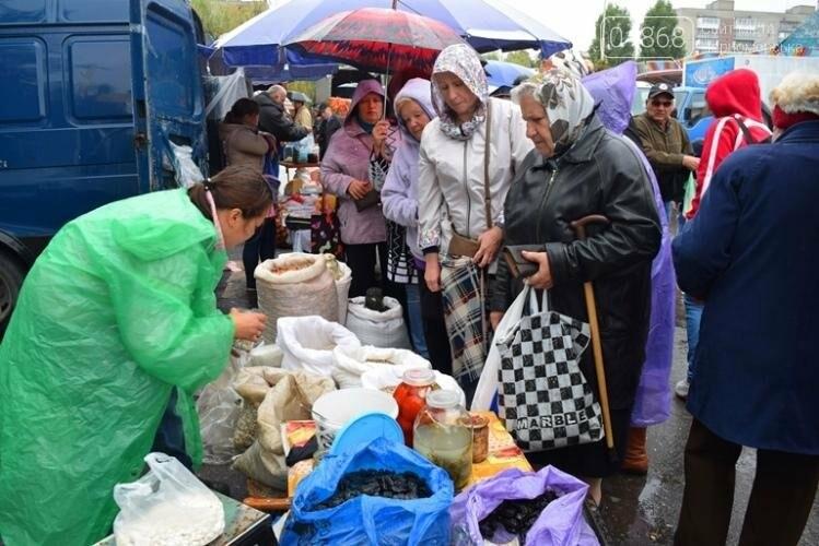 Дождь не стал помехой ярмарке в Черноморске, фото-4