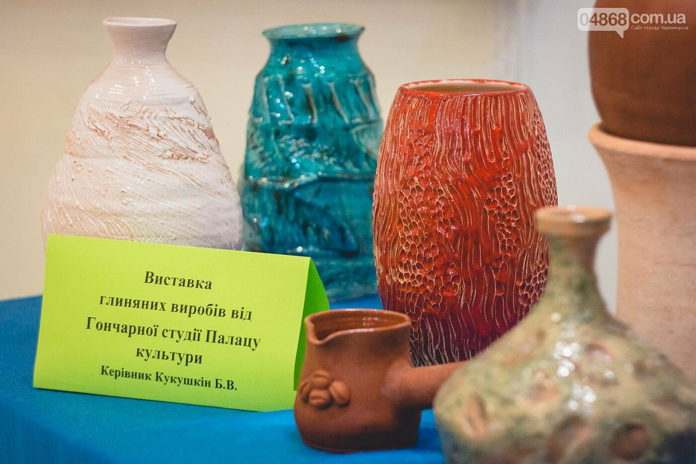 Во Дворце культуры Черноморска работает гончарная мастерская, фото-2