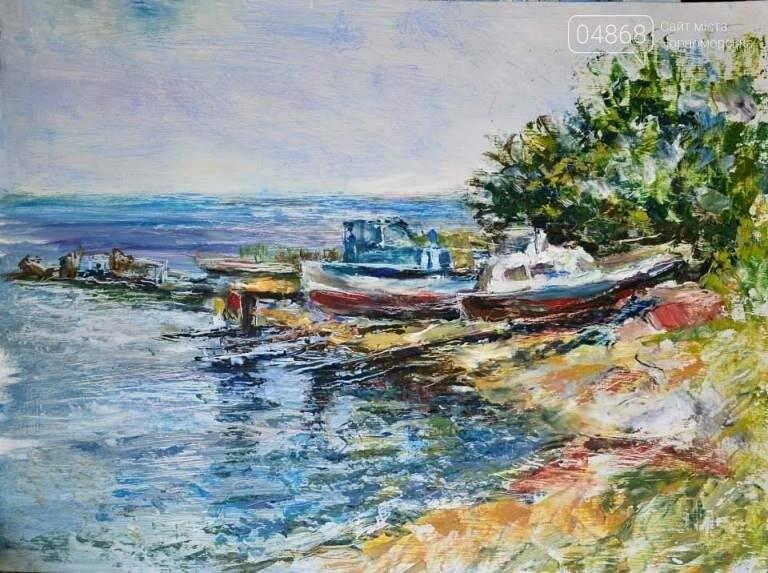 Таланливый черноморский художник, Ксения Стеценко, принята в Национальный Союз художников Украины, фото-5