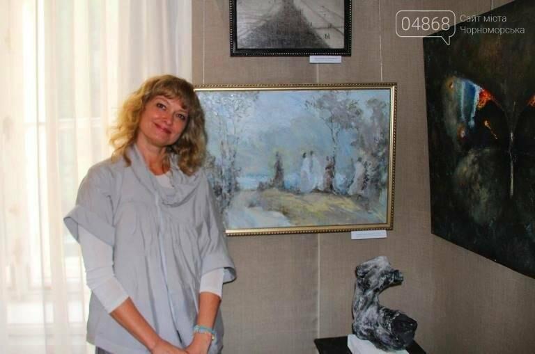 Таланливый черноморский художник, Ксения Стеценко, принята в Национальный Союз художников Украины, фото-3