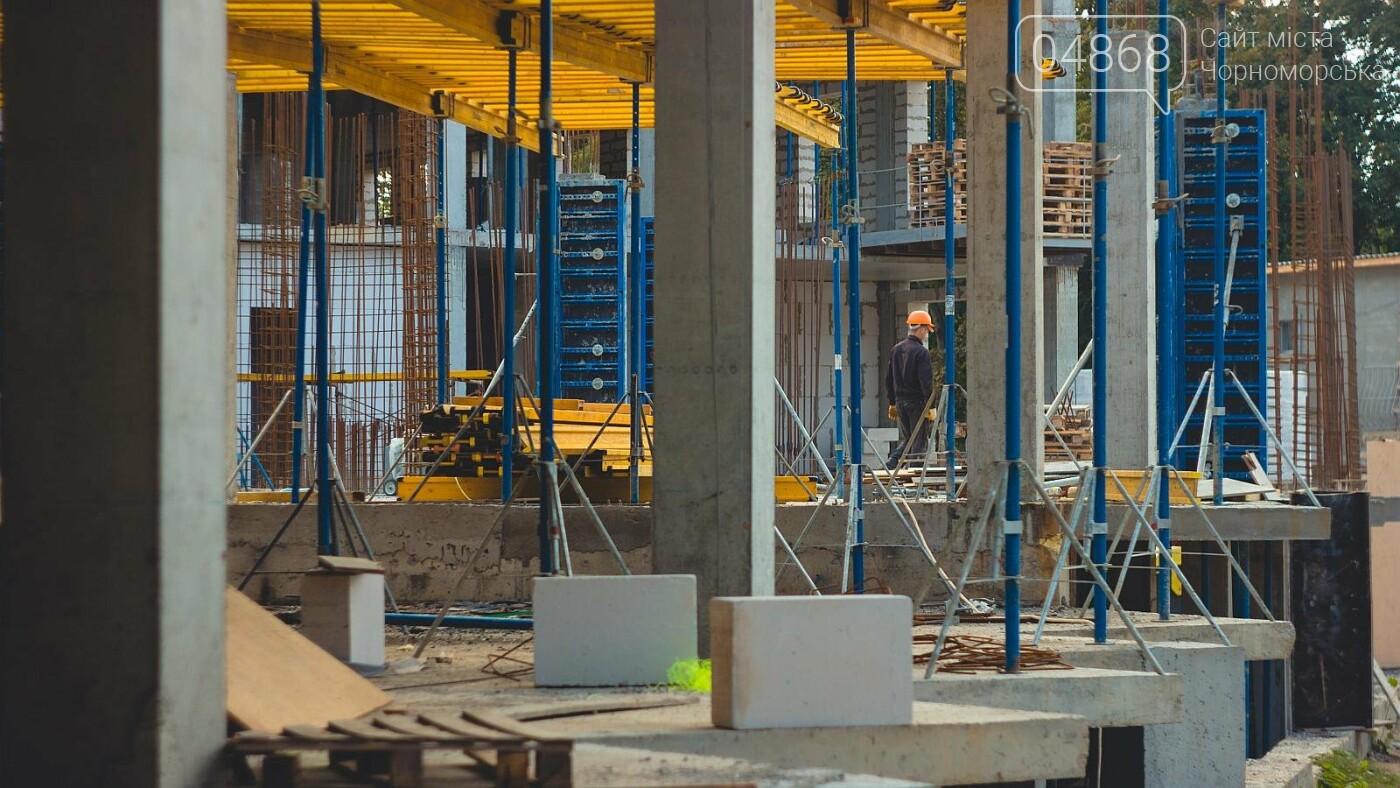 Каркас Черноморской гимназии планируется закончить к началу следующего года (видео), фото-5