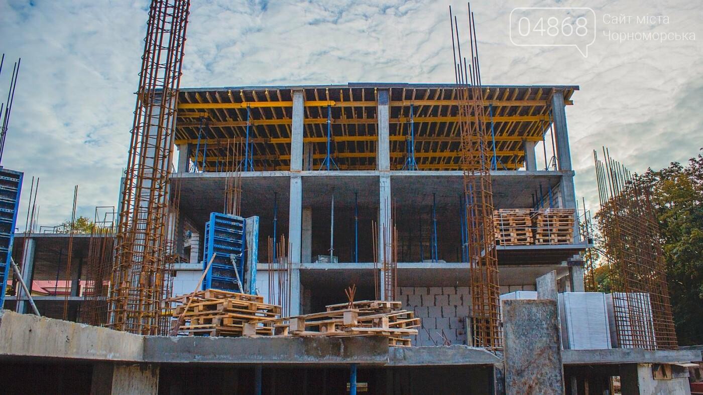 Каркас Черноморской гимназии планируется закончить к началу следующего года (видео), фото-8