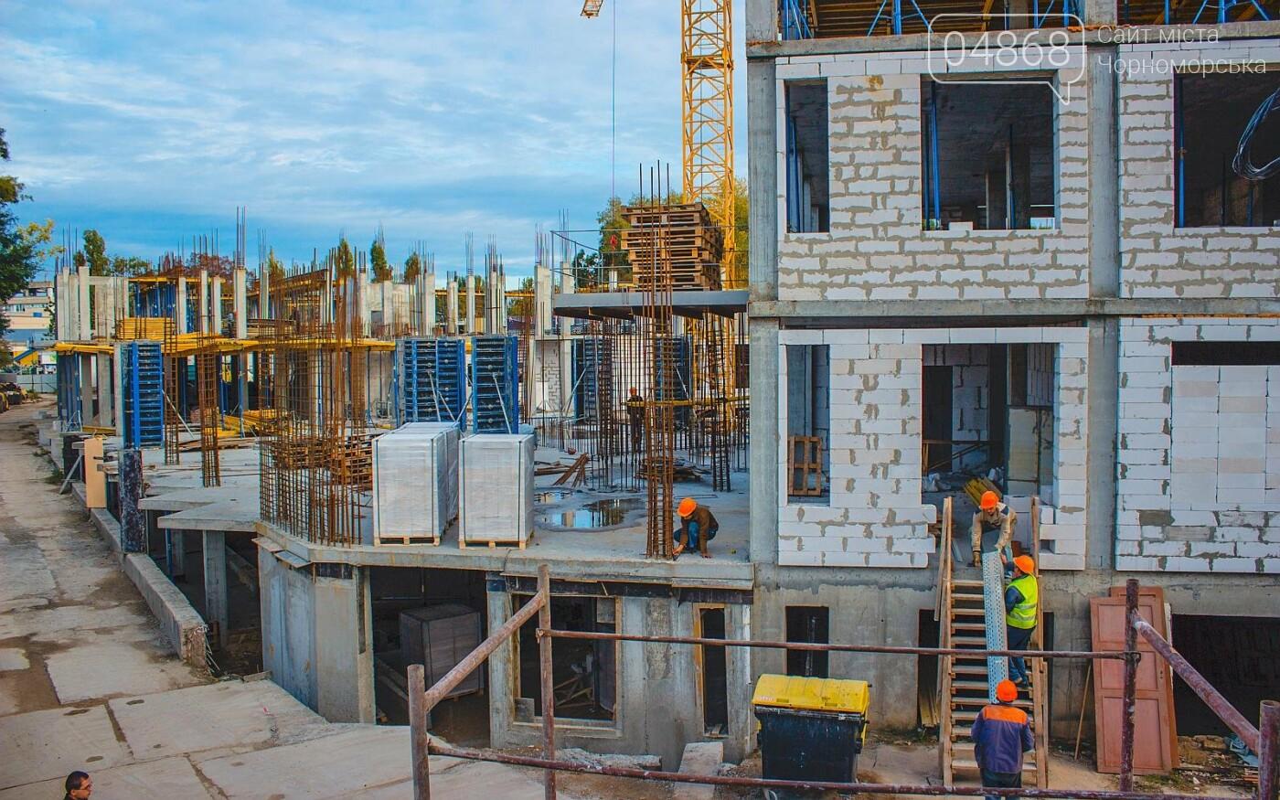 Каркас Черноморской гимназии планируется закончить к началу следующего года (видео), фото-10