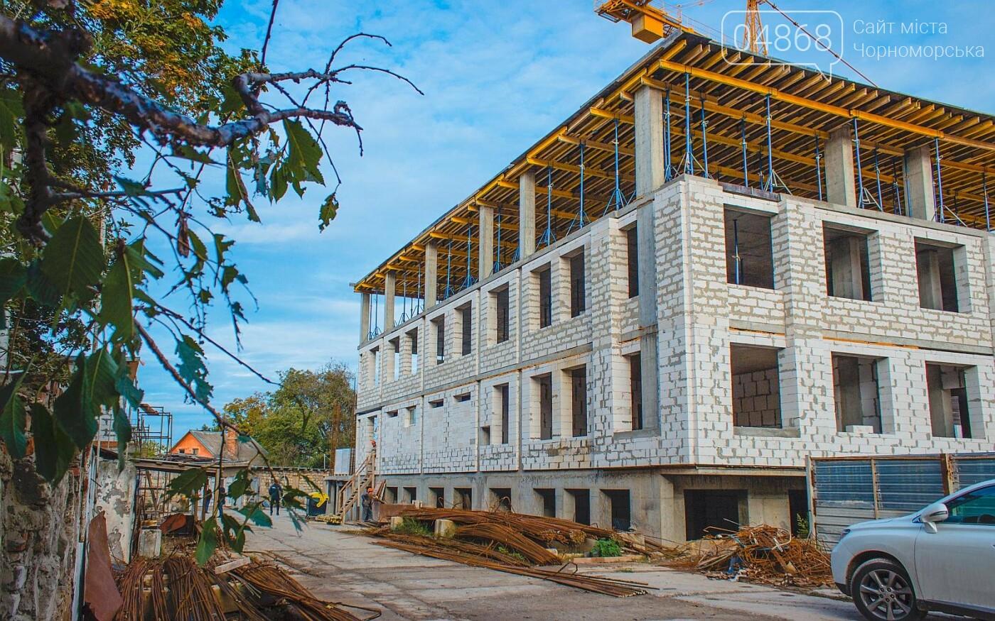 Каркас Черноморской гимназии планируется закончить к началу следующего года (видео), фото-3