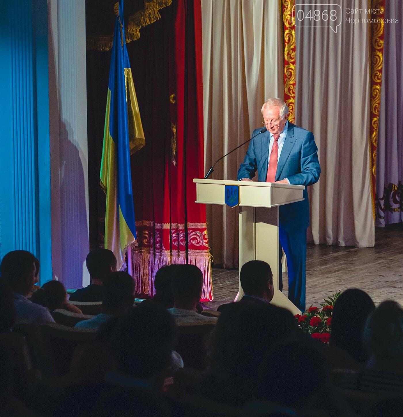 В Черноморске поздравили защитников Украины, фото-1