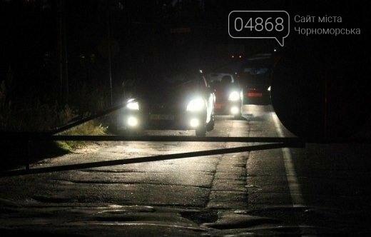 На паромной переправе у Черноморска в ночь с 12 на 13 октября развели понтонный мост (фото, видео), фото-1