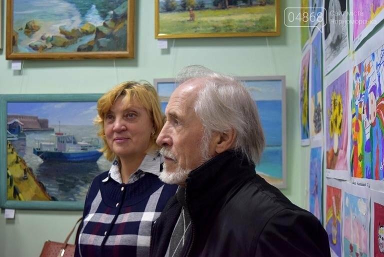 100 детских рисунков: в Черноморске открылась выставка «Краски жизни» (фото), фото-8