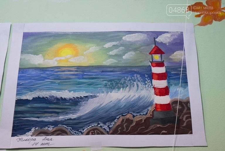 100 детских рисунков: в Черноморске открылась выставка «Краски жизни» (фото), фото-9