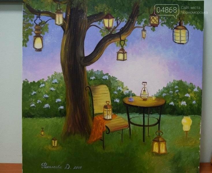 100 детских рисунков: в Черноморске открылась выставка «Краски жизни» (фото), фото-14