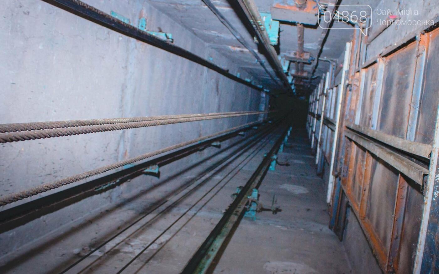 В Черноморске ремонтируют лифтовое оборудование, фото-8